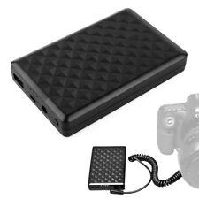 Power Bank w/LP-E6 Dummy Battery Pack DC Coupler For Canon 5D4 5D3 6D 60D 7D 70D