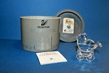Swarovski Crystal * Baby Carriage * 7473000005 / 199197 Retired and Rare
