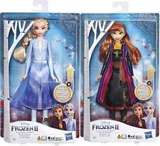 Disney Frozen 2 Elsa & Anna Swirling Adventure Light Up Fashion Doll
