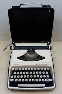 Remington Premier Vintage Typewriter Working Portable 1960s