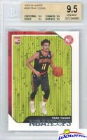 TRAE YOUNG 2018/19 Panini Hoops #250 ROOKIE BGS 9.5 GEM MINT Hawks!