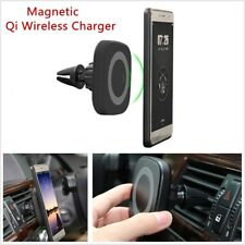 Magnetic Qi Wireless Charger Car Air Vent Phone Fast Charging for iPhone Samsung