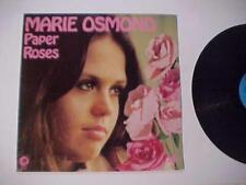 Rock Pop Music Record ~Marie Osmond~ Vintage Vinyl Disc Lp Album Original 1973