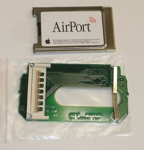 Apple AirPort Wireless Card Mac PC24-H 630-2883 & Slot Load Adapter 820-1066-A