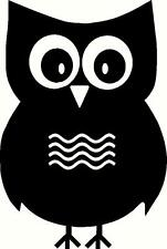"Owl Vinyl Decal ""Sticker"" For Car or Truck Windows, Laptops, etc"