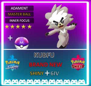 Pokemon Sword & Shield KUBFU 6IV  **FAST DELIVERY**