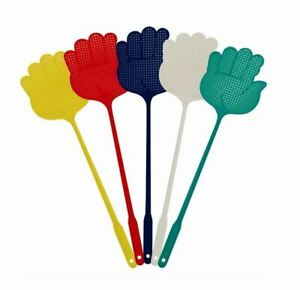 5 Pack Fly Insect Swat Swatter Bug Mosquito Wasp Swatters Indoor Outdoor Home