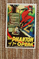 The Phantom of the Opera Lobby Card Movie Poster #1