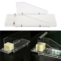 Household DIY Acrylic Soap Cutter Box Soap Loaf Cutting Tool Portable Adjust