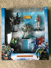 NEW Justice League Collectible Figurines Box Set Batman Superman Wonder Woman