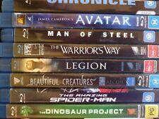 Legion, Avatar, Dinosaur Project - 8 Fantasy/Sci-Fi Bluray Bundle