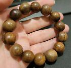 Mala+Agarwood+Wood+Beads+Bracelets+Around+15mm+Buddha+Beads