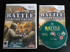 Battle for the Pacific - Nintendo Wii / Wii U - PAL - RARE - History Channel