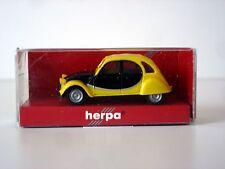 VOITURE CITROEN 2CV CHARLESTON - HERPA - ECHELLE HO 1/87 (3)