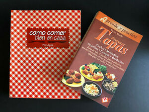 Preparar Tapas por Víctor Rueda y Como Comer Bien En Casa por Pili Lopez