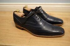 Barker McClean 9F Navy Blue Shoes worn twice