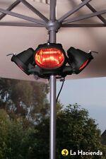 La Hacienda/Heatmaster electric infrared parasol/patio/marquee heater U3-R20-2kw