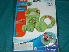 4 baby floats summer waves swim set new with pool toys