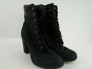 Timberland Allington Leather Ankle Tie Womens Boots Bootie