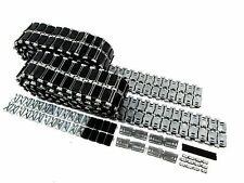 MT157 Mato Metal Tracks W/ Rubber Metal Pads for 1/16 Leopard 2 A6 RC Tank Model