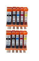 10 NON-OEM INK CARTRIDGE CANON PGI-270XL CLI-271XL PIXMA MG6820 MG5722 MG5721