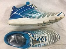 Saucony Kinvara 3 10157-3 White Blue Womens Size 10 Running Sneakers Shoes