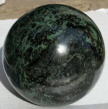 38800g AAA+ NATURAL GREEN JASPER STROMATOLITE Fossil Quartz Crystal Sphere Ball