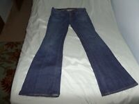 CITIZENS OF HUMANITY WOMEN'S BLUE JEANS INGRID #002 STRETCH LOW WAIST FLARE SIZE