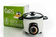 PARS Automatic Persian Rice Cooker (4 CUP) / Safe Shut Off and Removable Cords