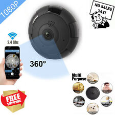 WIFI Camera with Audio Motion Detection Alarm Monitor Security Outdoor Indoor