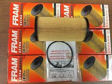 6 FRAM EXTRA GUARD CH9549 Engine Oil Filter FOR 2003-2010 FORD 6.0 6.4 DIESEL