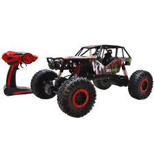 1/10 Scale 2.4Ghz 4 Wheel Drive Rock Crawler Radio Remote Control RC Car Toy Red
