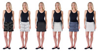 LIMITED NEW Colorado Clothing Everyday Tranquility Skirt Skort FREE SHIP! S-XXL!