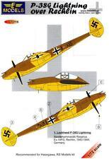 LF Models Decals 1/72 LOCKHEED P-38G LIGHTNING Sonderkommando Rosarius
