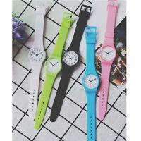 Fashion Womens Watch Leisure Small Fresh Girl Watch Analog Silicone WristWatches