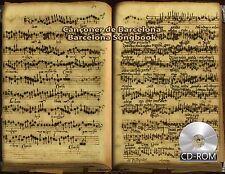 Cançoner de Barcelona - Barcelona Songbook 1500 - 1599 manuscript Biblioteca