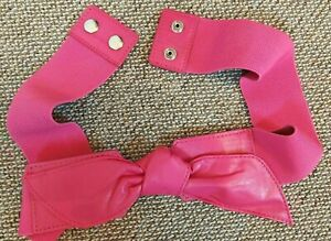 Hot Pink Sexy Bow Women Wrap Waist Belt New Size 32 - 40 inches Elasticated