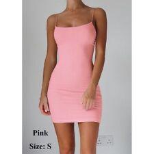 Bodycon Dress Women Sexy Dress Spaghetti Strap Mini Dresses Package Hip