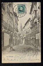 2994.-TOLEDO -Calle de Comercio (Enviada a México en 1917)(Tarjeta Sin División)