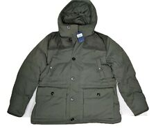 Bnwt HACKETT green padded country jacket down filled size XXL RRP £699