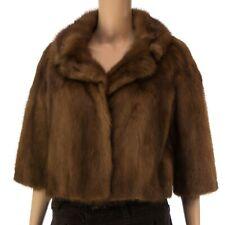 Nerzjacke Damen Fell Mink Jacket Fur норка  - Size: 40-42   (N363)