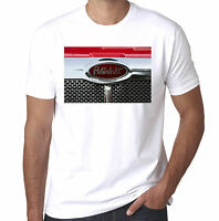 Peterbilt American Truck Front Grille mens printed Trucking T shirt