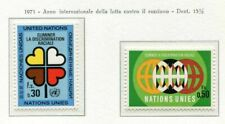 19517) UNITED NATIONS (Geneve) 1971 MNH** No to racism