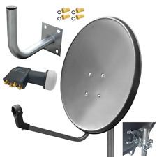 Digitale Sat-Anlage//Sat-Antenne mit Fensterhalterung u.Zubehör//Sat-Schüssel//HFKF