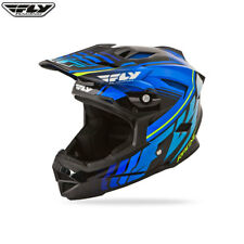 Fly 2016 BICI BMX MTB Downhill Default Full Face Youth Casco Nero/Blu Piccoli