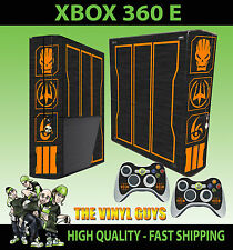 XBOX 360 E CALL OF DUTY SPECIAL EDITION BLACK OPS III SKIN X 2 PAD SKINS