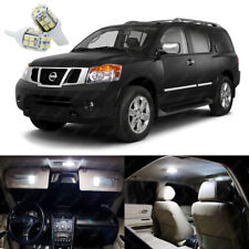 18 x Xenon White LED Interior Light Package Deal For Nissan Armada 2005 - 2014