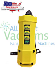 Clean Obsessed CO6 Backpack Vacuum Cleaner 6 Qt.