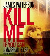 James Patterson KILL ME IF YOU CAN Unabridged CD *NEW* FAST 1st Class Ship!