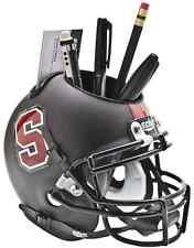 STANFORD CARDINAL NCAA Schutt Mini Football Helmet DESK CADDY